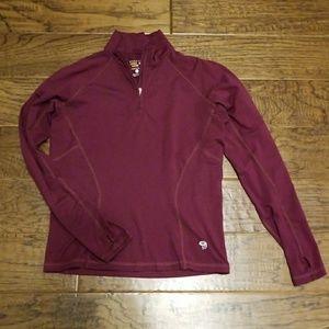 Mountain Hardwear workout jacket/baselayer-S-EUC